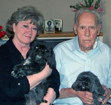 Pat & Bob Wilson with Harley & Piper