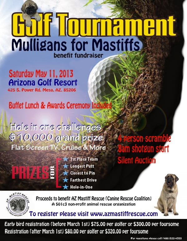 Golf tournament revised