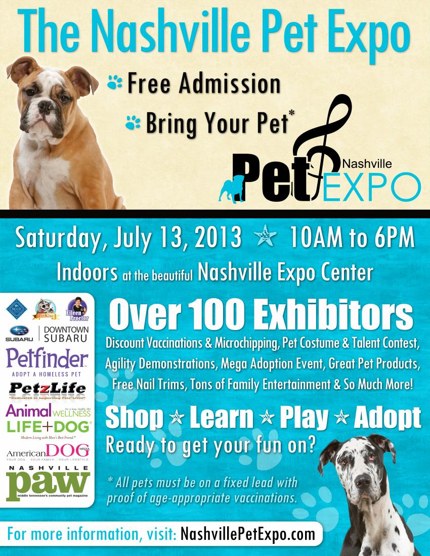 2013 Nashville pet expo