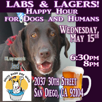 Labs Happy Hour South Bark May 15 630p to 8p