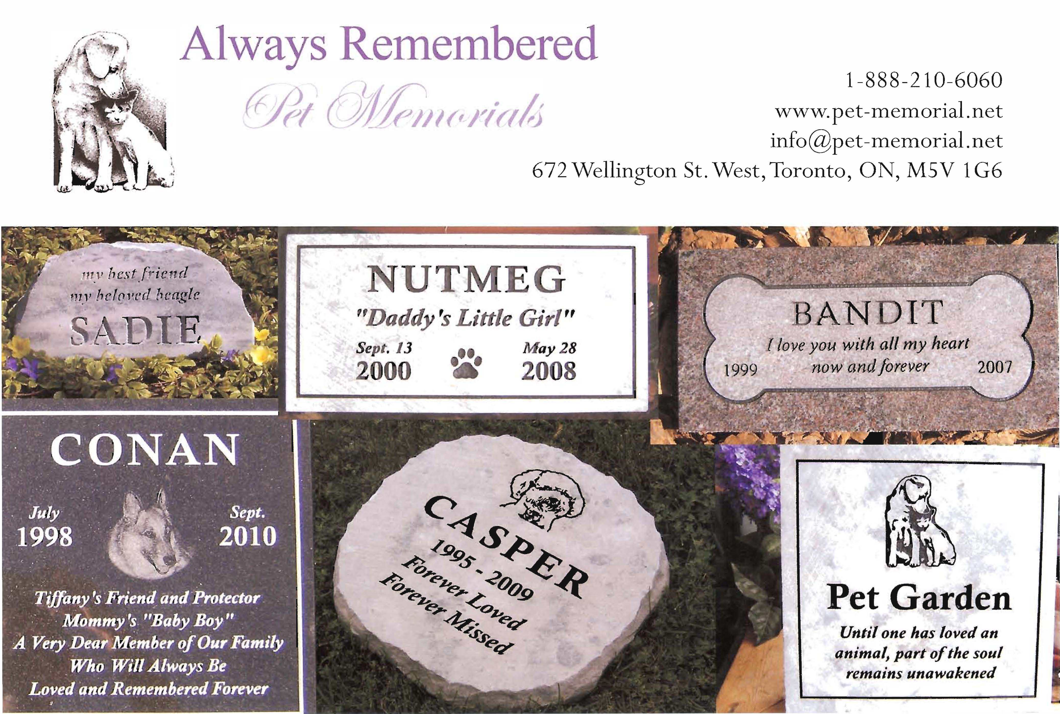 Pet Memorials