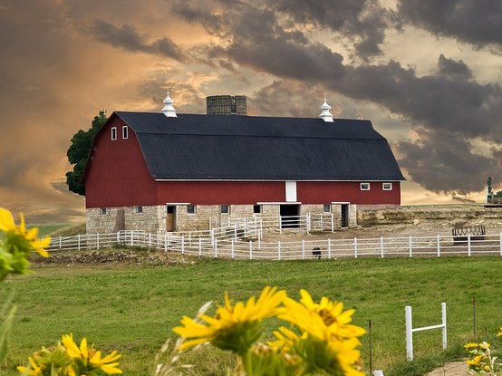 Summer Barn Photo