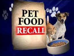 Pet Food Recall 2011