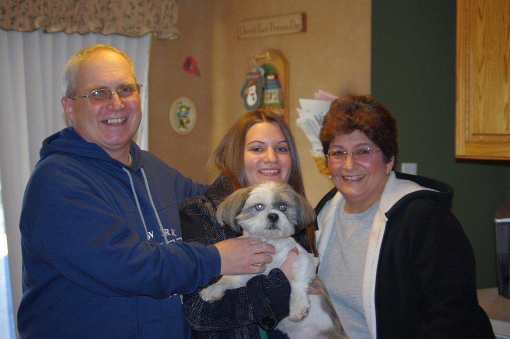 Lhasa Apso Jack's New Family