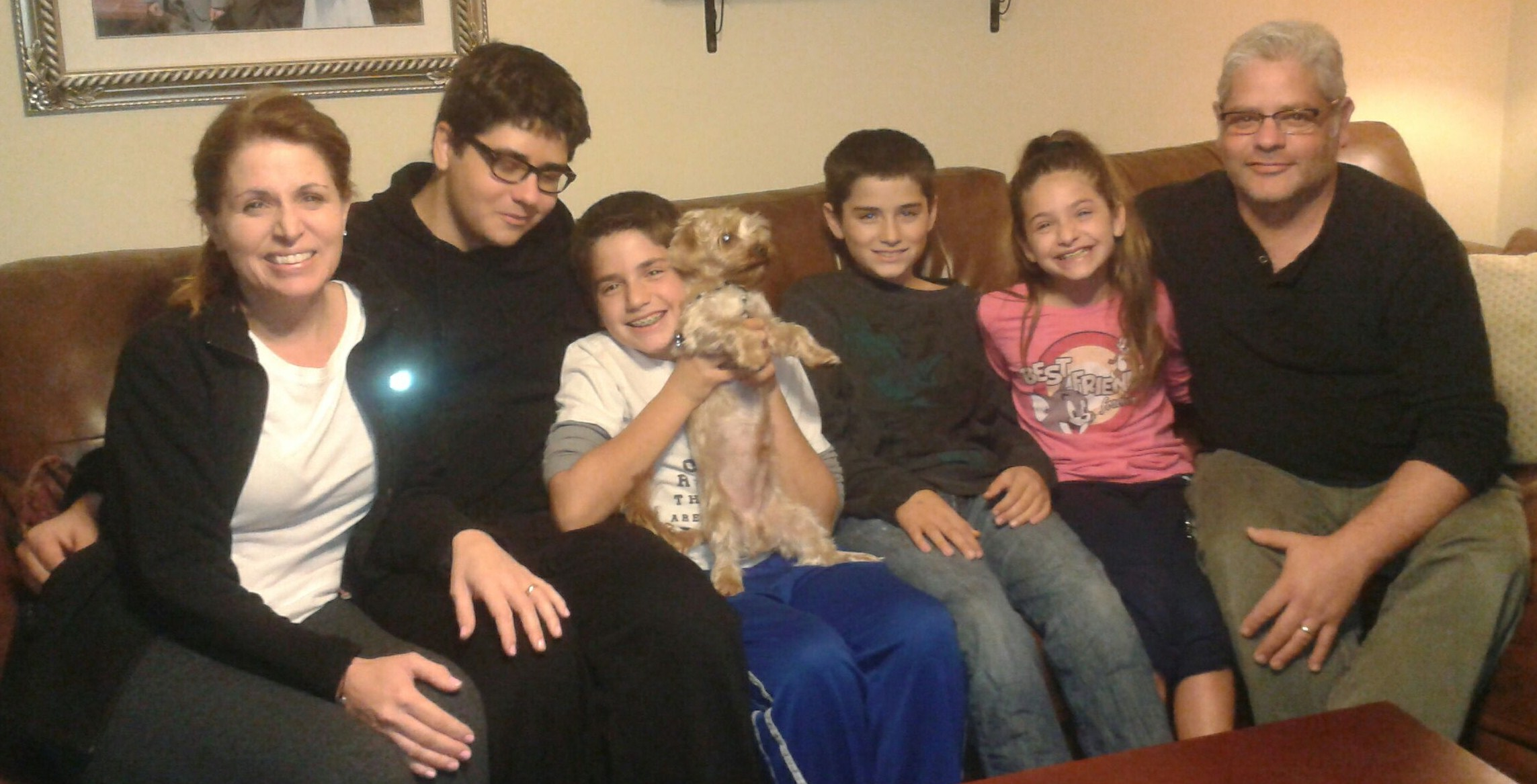 Reggie's New Family