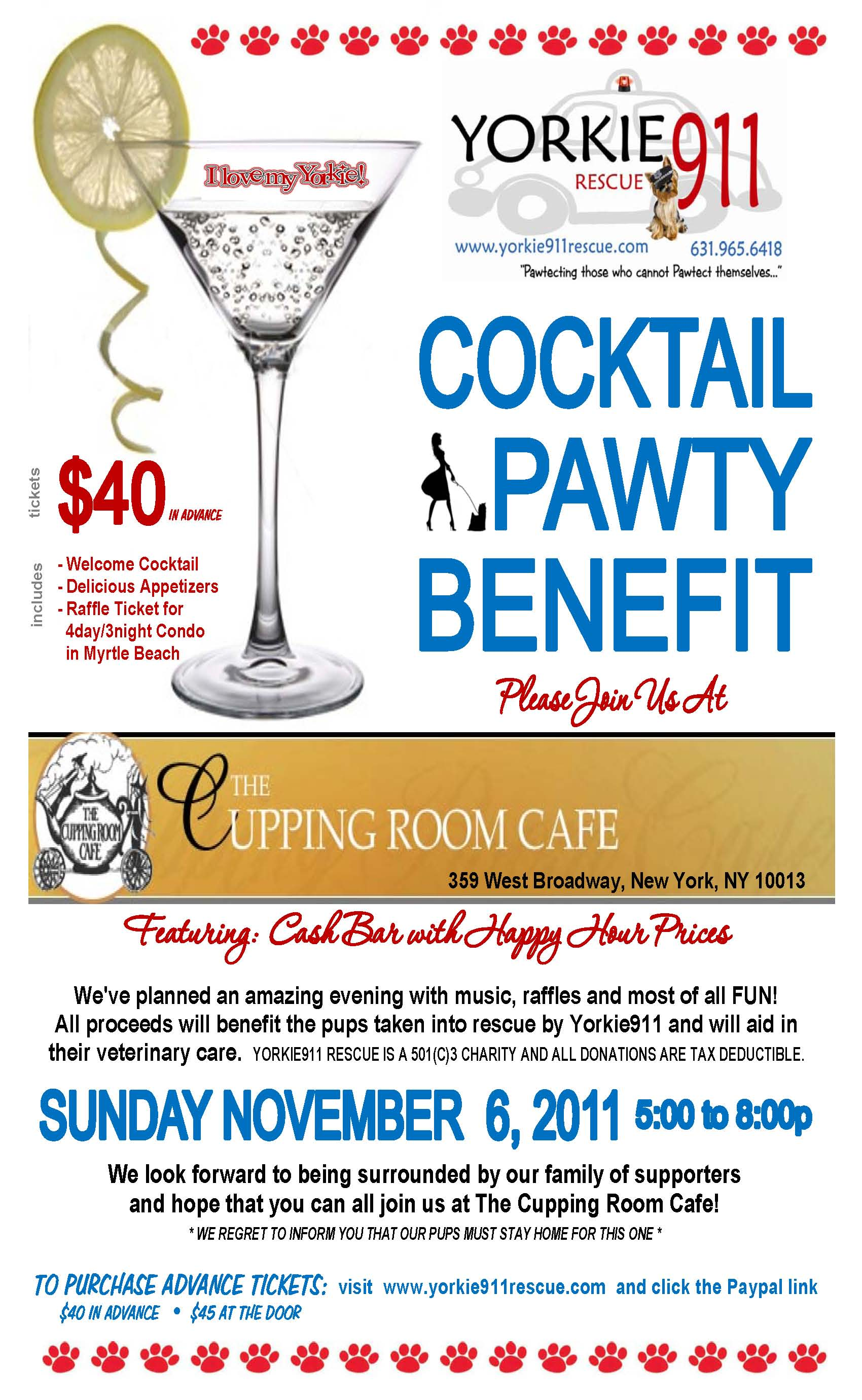 11.11.06 Cupping Room Cafe Flyer