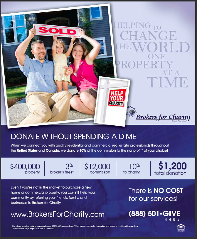 Web Image: 2011 Brokers for Charity Flyer